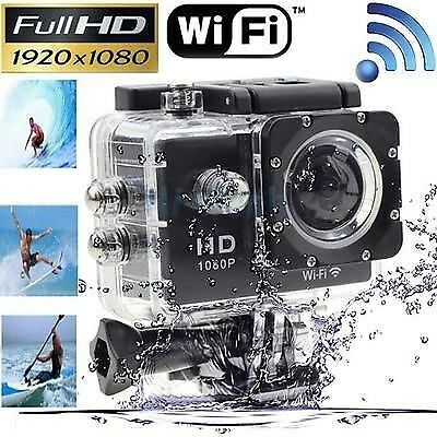 Full HD 1080P WIFI Sports Action Camera