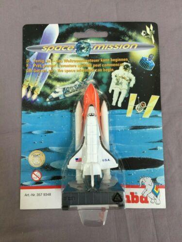 Vintage SPACE MISSION-Navette spatiale avec lanceur-De Simba CA 11 cm