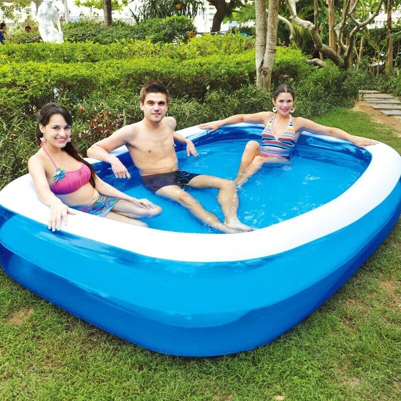 155X108CM Inflatable Pool High Quality Children's & Adult Home Use Paddling Pool