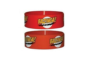 Big-Bang-Theory-bracelet-officiel-pvc-TBBT-Bazinga-official-rubber-wristband