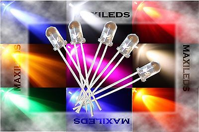 LED 3mm LEDs molto luminoso 3 mm resistenze 9V 12V 24V