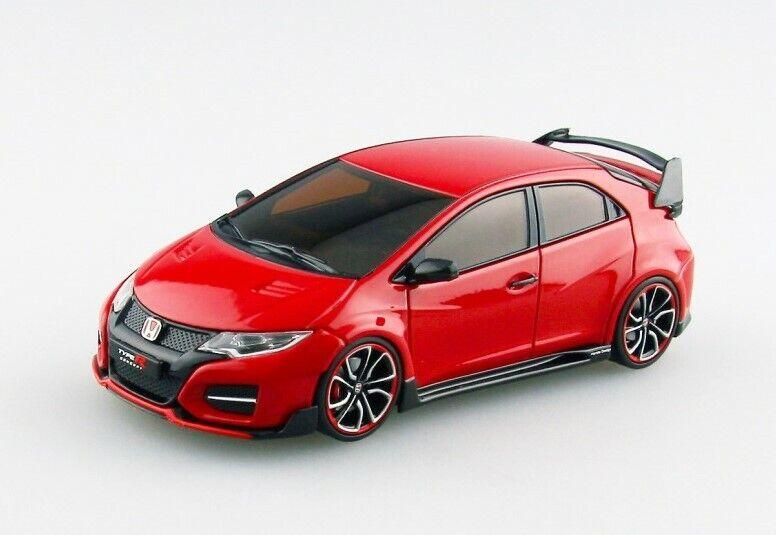nelle promozioni dello stadio EBBRO 45234 1 43 43 43 HONDA Civic Type R Concept 2014 rosso modellolo autos  negozio a basso costo