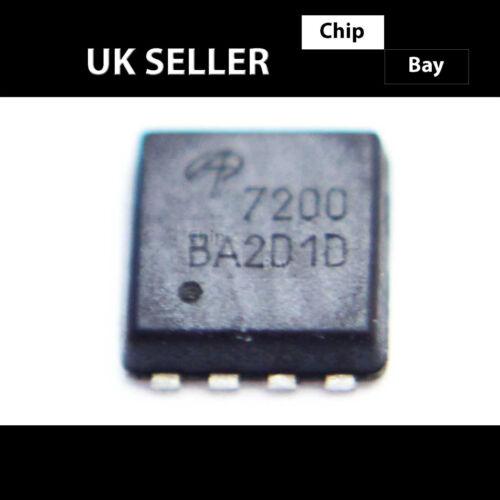 2x AON7200 7200 MOSFET N-CH 30V 15.8A 8DFN