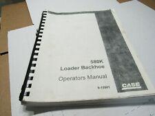 Case 580k Loader Backhoe Operators Manual 9 15981