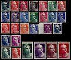MARIANNES de GANDON de 1945, Neufs ** = Cote 63 € / Lot Timbres France 712 à 733
