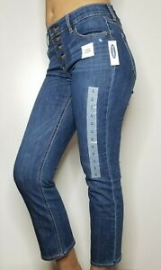 Old-Navy-34-Cropped-Flare-Ankle-Length-Jeans-for-Womens-Size-2-NWT