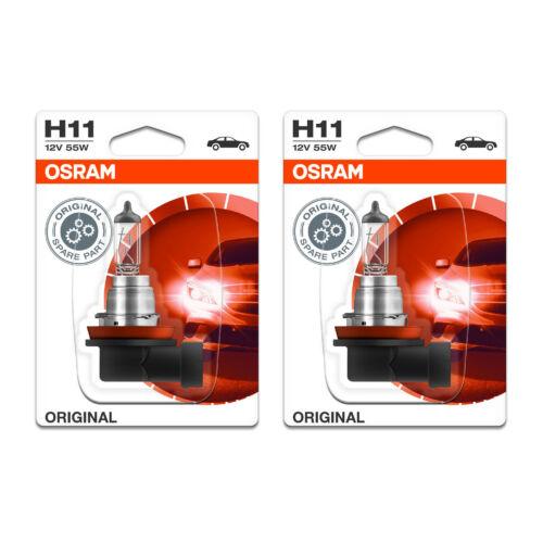 2x Toyota Prius ZVW30 Genuine Osram Original Low Dip Beam Headlight Bulbs Pair