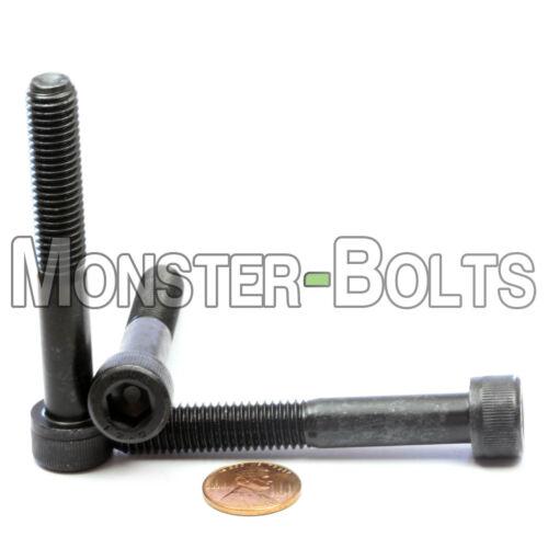 5 M10-1.50 x 70mm DIN 912 Socket Head Caps Screws 12.9 Alloy Steel Blk Ox