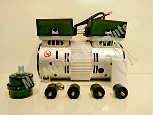 California Vacuum VP-100LF-22060 1Hp 220V 2.3 AMPS 60Hz 1 Phase Pump