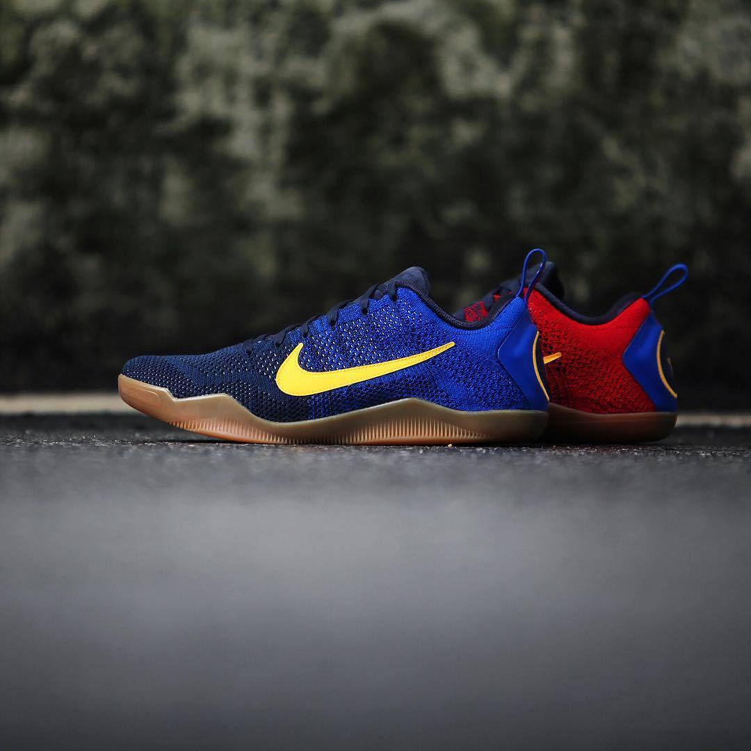 Nike Kobe XI Elite Low FCB 11 Bryant Mambacurial FC Barcelona Mens  844130-464 50 791d04bce
