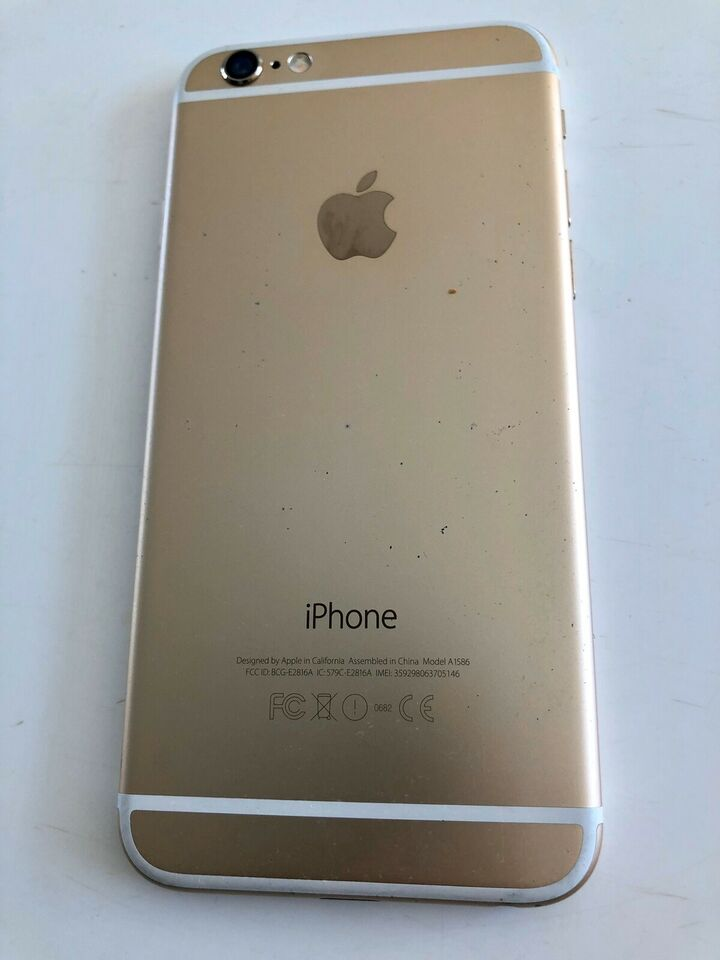 iPhone 6, 32 GB, guld
