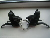 Shimano Tourney 18 speed 6 & 3 speed cycle / bike  brake levers gear shifters