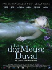 Affiche Pliée 40x60cm LA DORMEUSE DUVAL (2017) Dominique Pinon, Marina Tomé NEUV