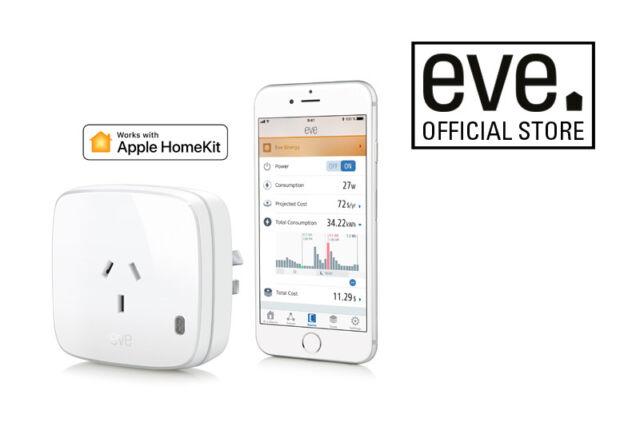 Eve Energy Switch & Power Meter Apple HomeKit Technology Bluetooth NEW