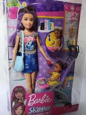 Barbie Skipper Babysitters Inc Doll and Stroller Set | eBay