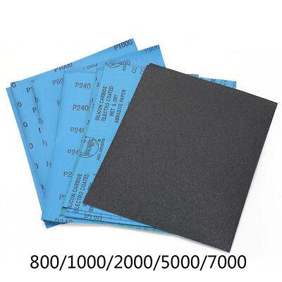 9/'/'x11/'/' Wet Dry Sandpaper 800-7000 Grit Abrasive Paper Sheet Sanding Polish