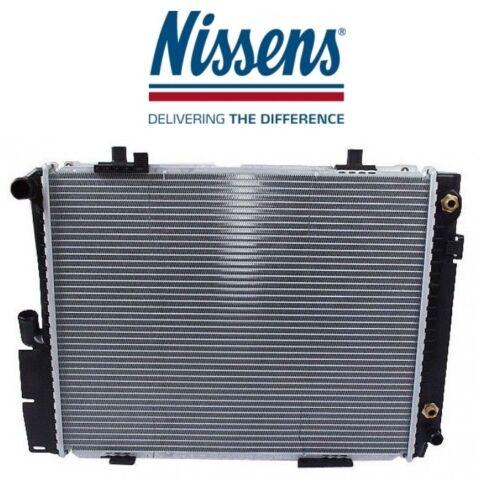 For Mercedes W201 190E Plastic//Aluminum Radiator NISSENS 201 500 64 03