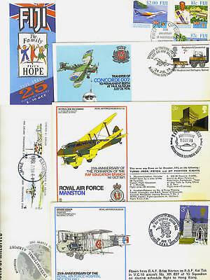 100% Wahr Britische Commonwealth 600ms Transport Luftpost, Trai