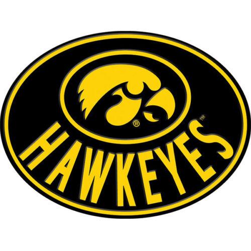 Iowa Hawkeyes vinyl sticker for skateboard luggage laptop tumblers car k