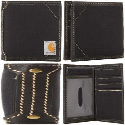 Carhartt Men/'s Billfold Wallet One Size Black