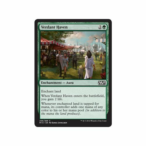 MTG core set M15 4x 4 x Verdant Haven x4 MINT PACK FRESH UNPLAYED 2015