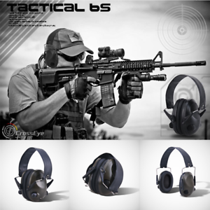 Hearing-Protection-Electronic-Headphones-Ear-Muffs-Noise-Shooter-Shooting-Safety