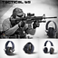 Electronic-Headphones-Ear-Muffs-Hearing-Protection-Noise-Shooting-Safety-Headset thumbnail 2