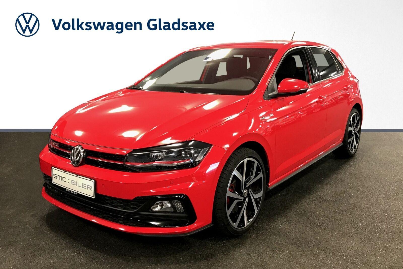 VW Polo 2,0 GTi+ DSG 5d - 284.900 kr.