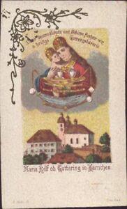 Maria-Libro-Hilf-Guttaring-Wallfahrt-Cuadro-Santos-Amria-Austria-B-7342