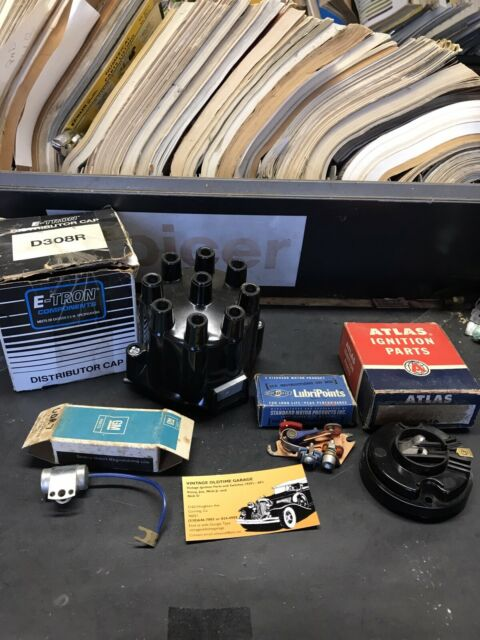 Tune Up Kit w// Spark Plugs 56 57 58 59 60 Oldsmobile V8 NEW