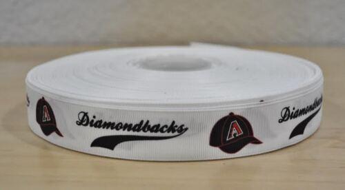 1 yarda Arizona Diamondbacks de Cinta de Grogrén 7//8 Pulgadas