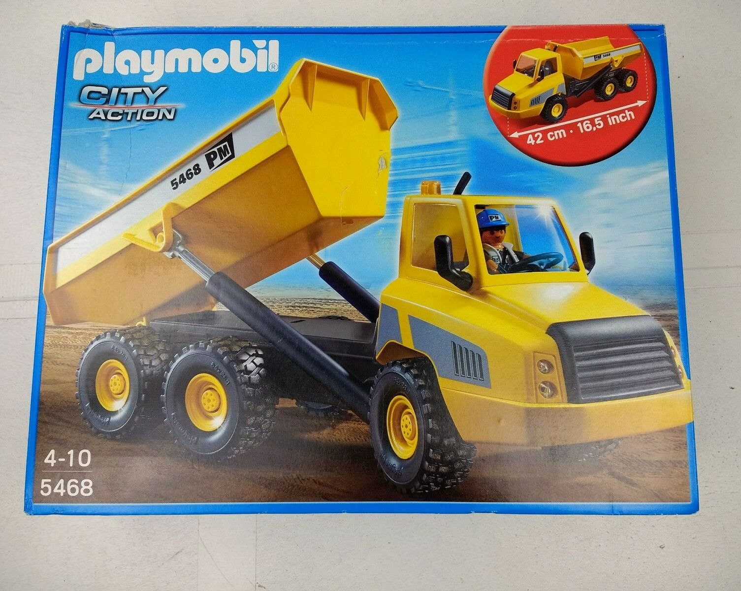 Playmobil 5468 Industial Dump Truck City Action