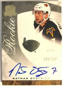 2008-09-Upper-Deck-The-Cup-Autograph-Rookie-Card-Nathan-Oystrick-RC-199-61