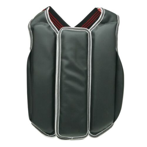 New Karate Chest Guard MMA Vest Body Protector Martial Arts Chest Sparring Gear