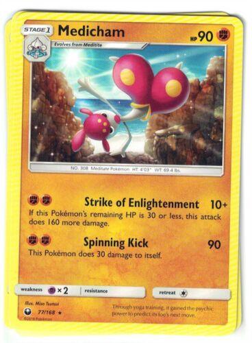 Medicham 77//168 Rare NM-M Pokemon TCG Celestial Storm