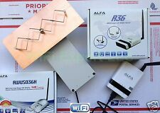 WiFi Antenna ALFA R36 + G OUTDOOR 8M Double Biquad Long Range GET FREE INTERNET