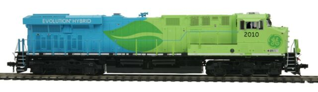 MTH HO G.E. EVOLUTION DEMO ES44AC 80-2350-1 RD # 2010 DCC/DCS/PS3.0