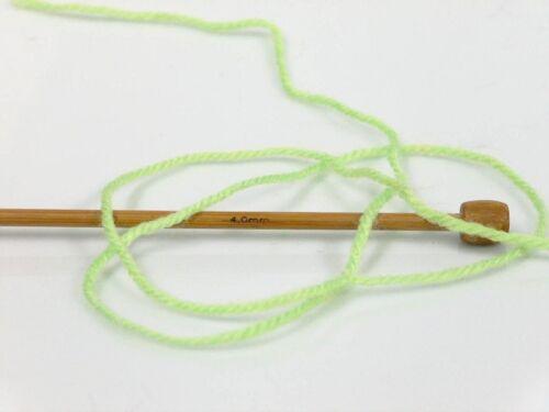 Yellow 100gr Magic Baby #50004 Green Orange White Acrylic Yarn 393yds