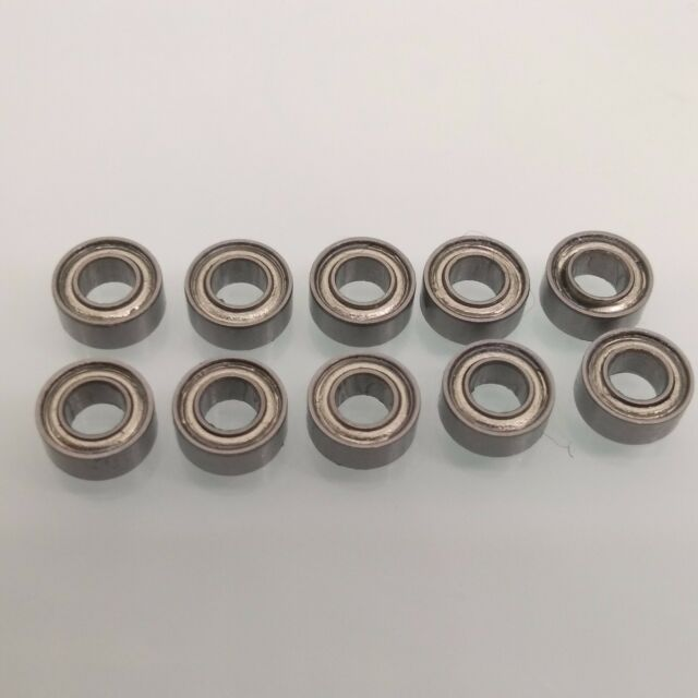 25 PCS 2x6x2.5mm MR62ZZ Double Metal Shielded PRECISION Ball Bearing 2*6*2.5