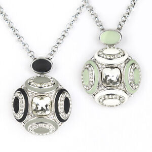 Starstruck Saturn inspired with Swarovski Elements crystal Pendant necklace for