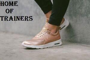 Nike Air Max Thea ROSSO METALLIZZATO se Bronzo Tutte le taglie 861674902