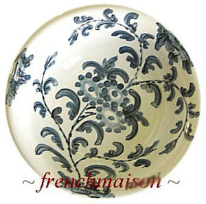 Italian-Florence-Handcrafted-Handpainted-Ceramic-Small-OLIVE-CONDIMENT-DISH-BOWL
