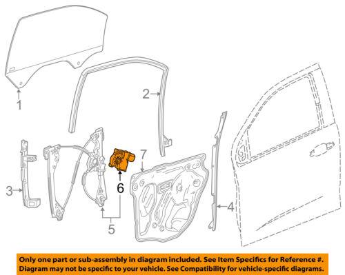 GM OEM-Power Window Motor 84319135