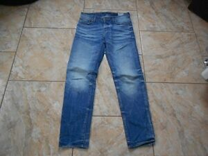 Bon G Moyen W28 Bleu H9268 Jeans star L32 gw4CfFq