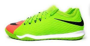 265e7b05e Nike HypervenomX Finale II IC Mens Indoor Soccer Cleats Green Size ...