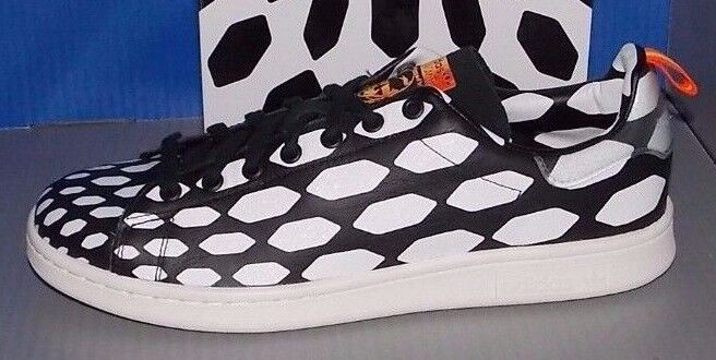 MENS ADIDAS STAN SMITH WC in colors BLACK / WHITE VAP / RUNNING WHITE SIZE 10