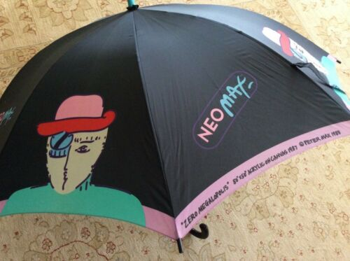 Peter Max Umbrella ***Very Rare*** 1987 Neo Max Ze
