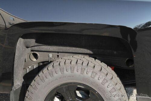 4 Rear Wheel Well Frame Tube Hole Plug 1999-2017 Chevy Silverado GMC Sierra 1500