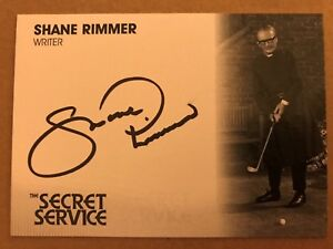 BLACK INK SHANE RIMMER AS LOMAX SR1 THE PERSUADERS! AUTOGRAPH CARD