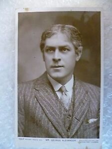 Postcard-Actor-MR-GEORGE-ALEXANDER